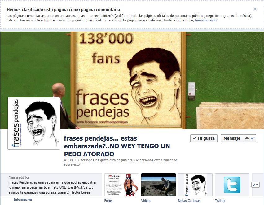 La página de Héctor López - Frases pendejas