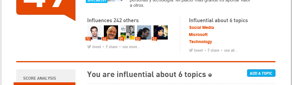 Klout Andreas Schou