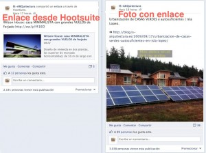 Como publicar enlaces en Facebook