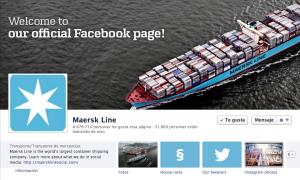 Facebook Maersk Line