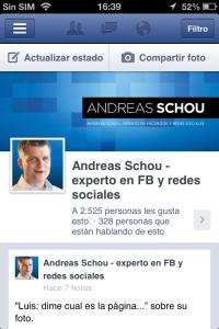 Administrador de páginas de Andreas Schou