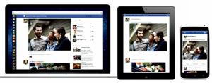 Facebook Newsfeed te dara la misma experiencia en movil, tableta como en el navegador de internet