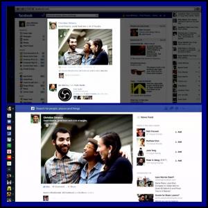 Nuevo diseño de las noticias en Facebook Newsfeed