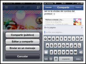 Compartir donde quieras con quien quieras en Facebook