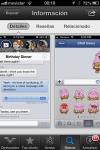 Chat heads y stickers en Facebook para moviles