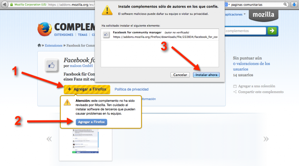 Descargar Facebook for Community Managers
