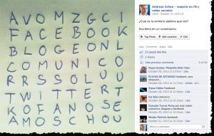 Cómo hacer sopas de letras en redes sociales artesanal