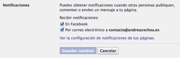 Cómo desactivar las notificaciones de las páginas de facebook