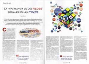 Entrevista la importancia de las redes sociales en las pymes PDF