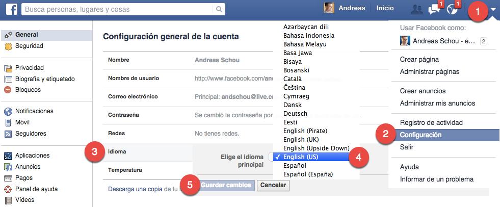 wwwfacebook en espanol