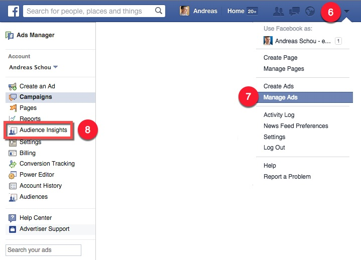 Instalar Facebook Audience Insights 02