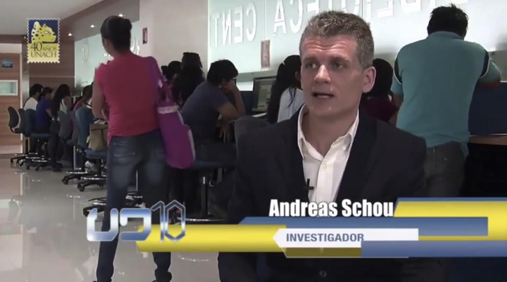Andreas Schou investigador redes sociales UNIR en UNACH