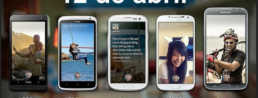Facebook Home Android 12 de abril