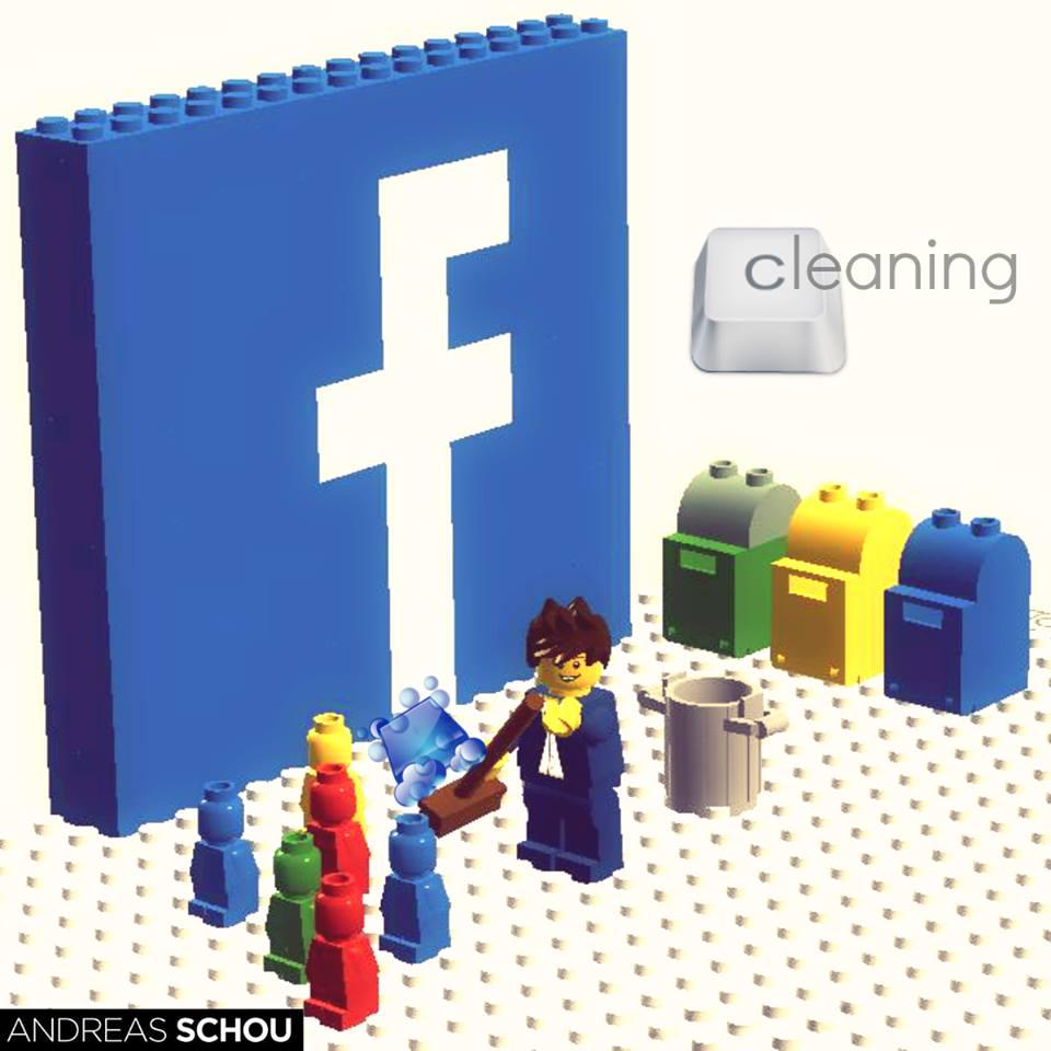facebook limpieza de fans en las paginas