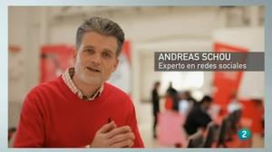 Andreas Schou experto en redes sociales y marketing digital para pymes generacion web en la 2 de TVE