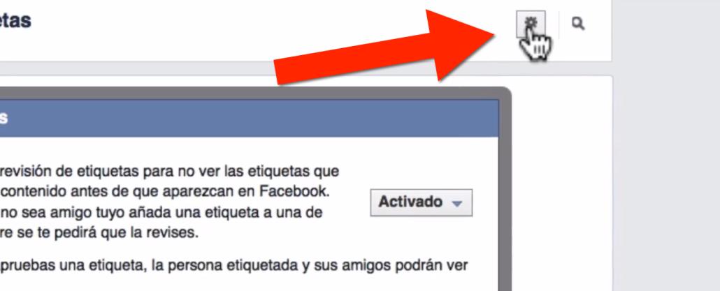 Paso 5 como evitar que me etiqueten en Facebook