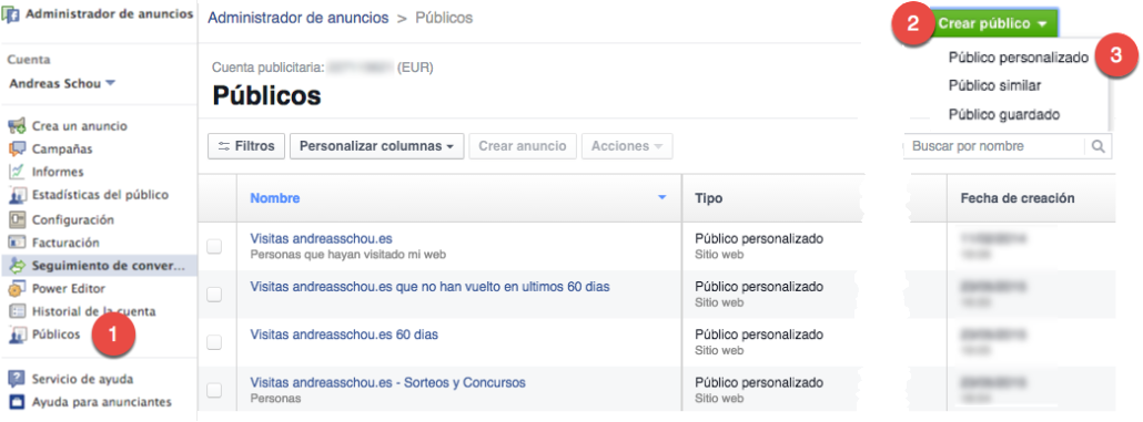 Cómo crear pixel remarketing en Facebook Ads